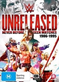 WWE: Unreleased - 1986-1995 on DVD