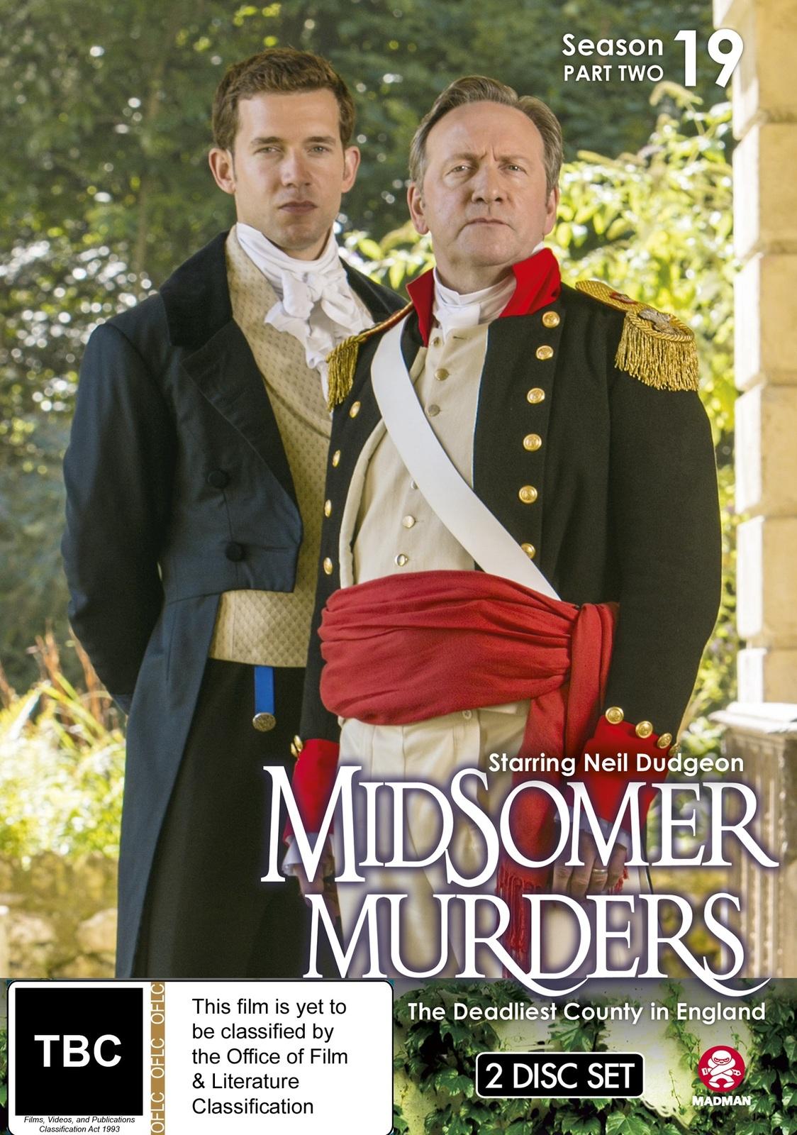 Midsomer Murders - Season 19: Part 2 on DVD image