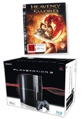 PlayStation 3 Console with Heavenly Sword Platinum for PS3