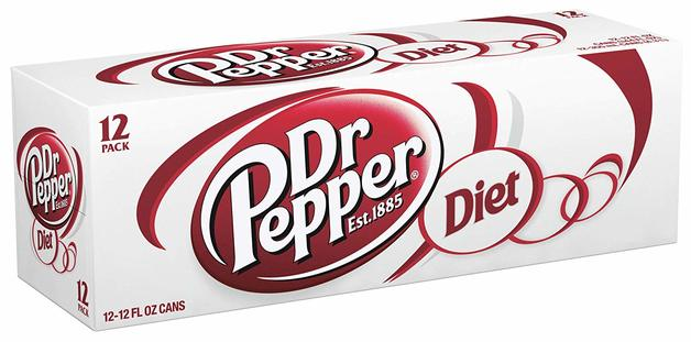 Diet Dr Pepper Cans 330ml 12pk At Mighty Ape Nz