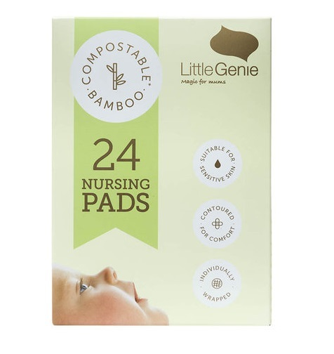 Little Genie: Bio-Nursing Pads (24 Pack)