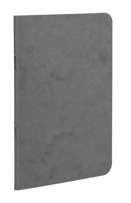 Clairefontaine: Age-Bag Stapled Notebook Blank - 9x14cm/Grey