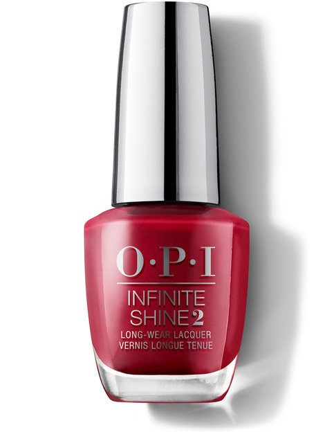OPI Infinite Shine 2 Lacquer - OPI Red (15ml)