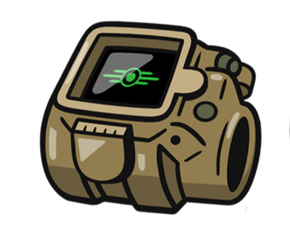 Fallout: Large Pin Badge - Pip-Boy