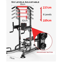 Ape Style All-In-One Pull Up Power Tower Home Gym