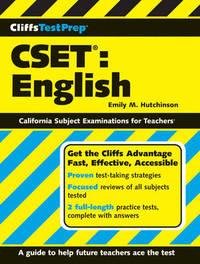 CliffsTestPrep CSET by Emily M Hutchinson image