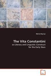 The Vita Constantini by Marta Deyrup image