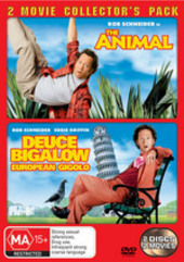 Animal, The / Deuce Bigalow European Gigolo - 2 Movie Collector's Pack (2 Disc Set) on DVD