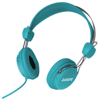 Kids Friendly Stereo Headphones (Blue)
