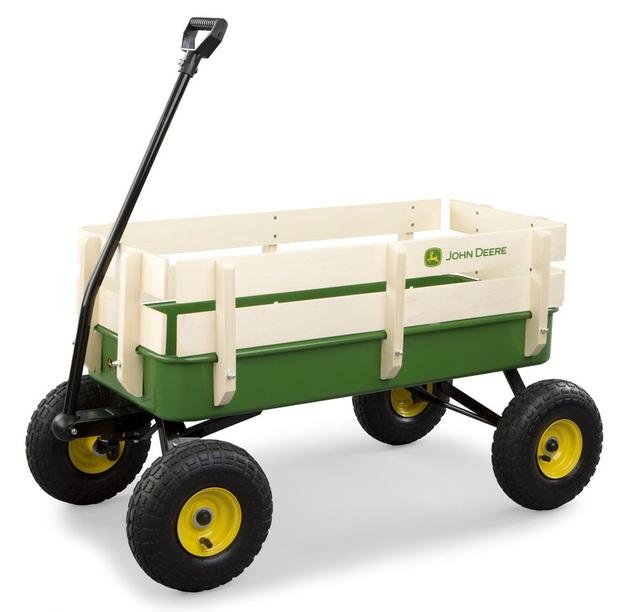 John Deere: Stake Wagon - Green (Steel)