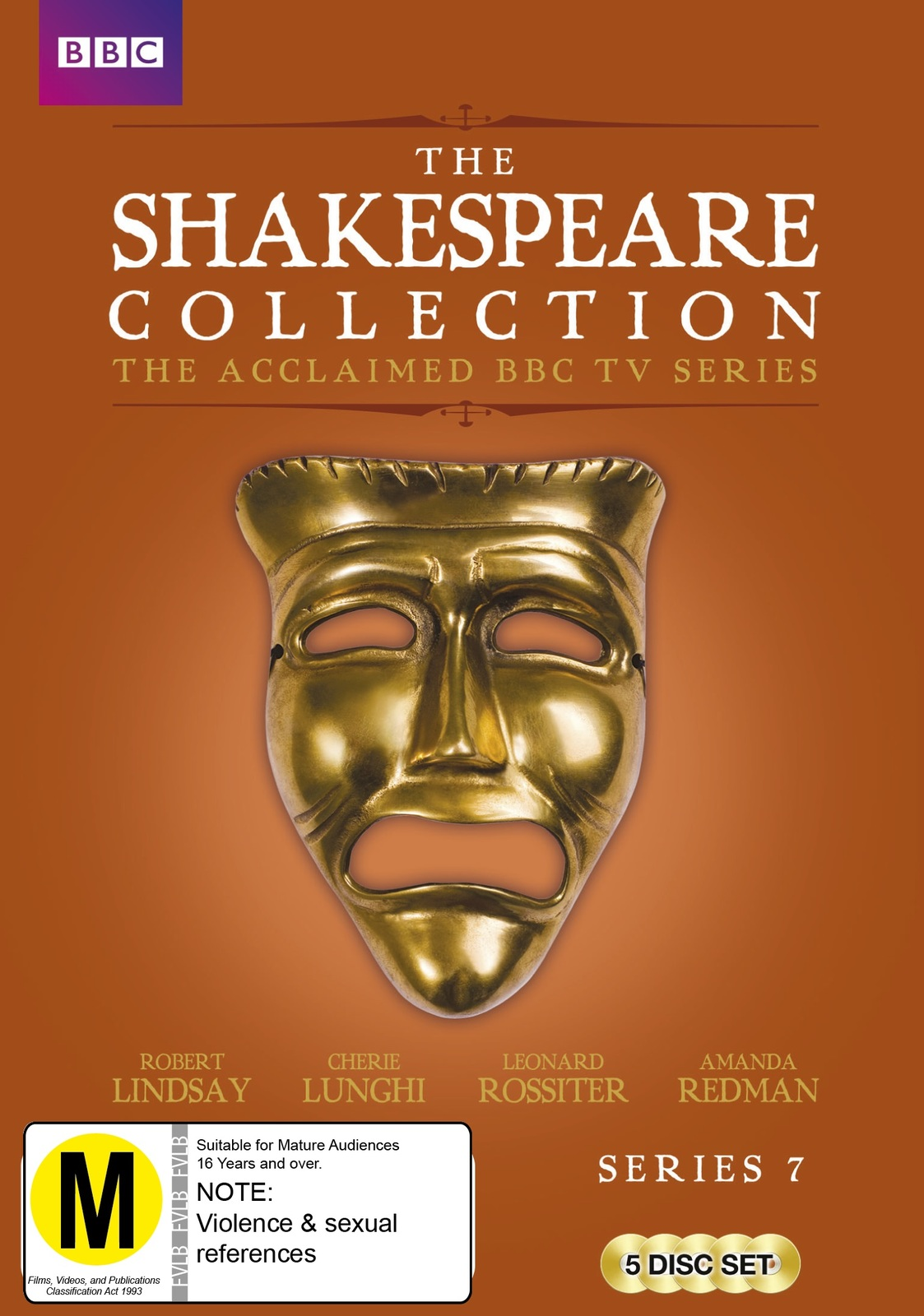 BBC Shakespeare Collection: Series 7 on DVD image