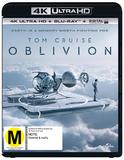 Oblivion on Blu-ray, UHD Blu-ray