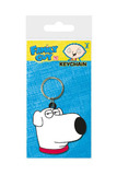 Family Guy: Brian Face Rubber Keychain (6cm)