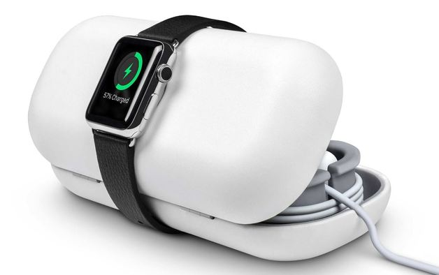 Twelve South TimePorter travel stand/ case for Apple Watch (White)