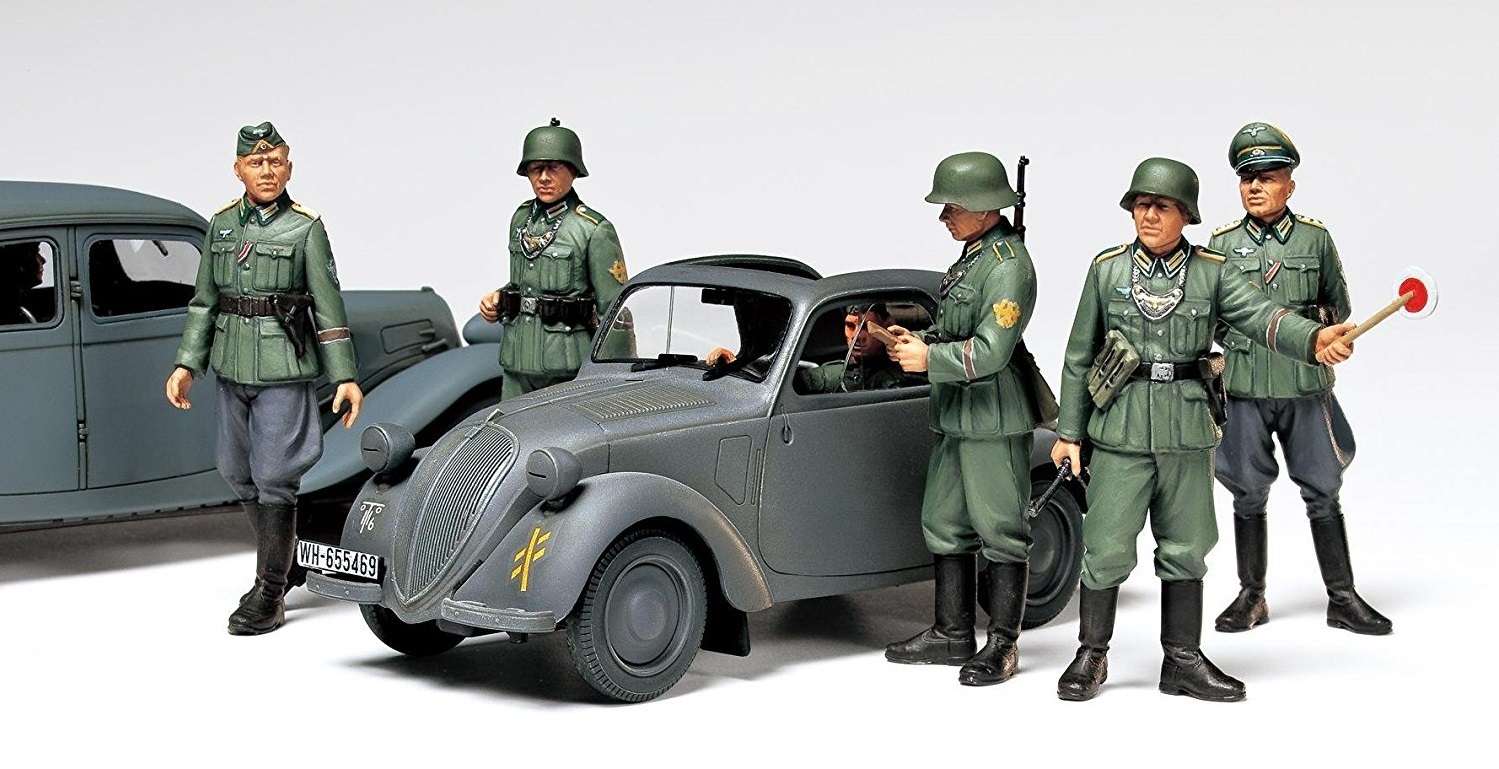 Tamiya 1/35 German Simca 5 Staff Car - Model Kit image