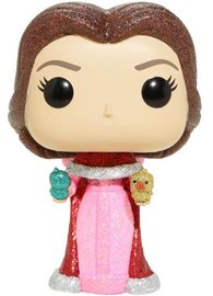Beauty & the Beast (2017) - Belle with Birds (Diamond Glitter Ver.) Pop! Vinyl Figure image