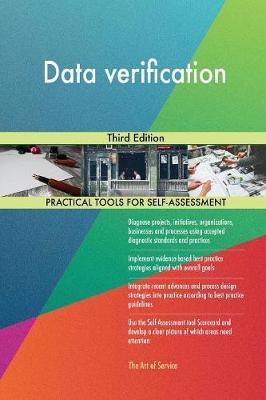 Data Verification Third Edition by Gerardus Blokdyk