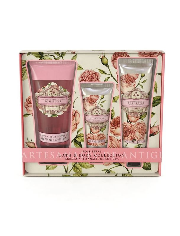 Aromas Artesanales De Antigua: Bath Collection - Rose Petal