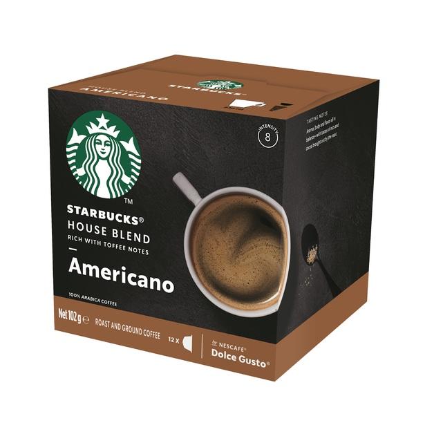 Starbucks House Blend Americano 12pk