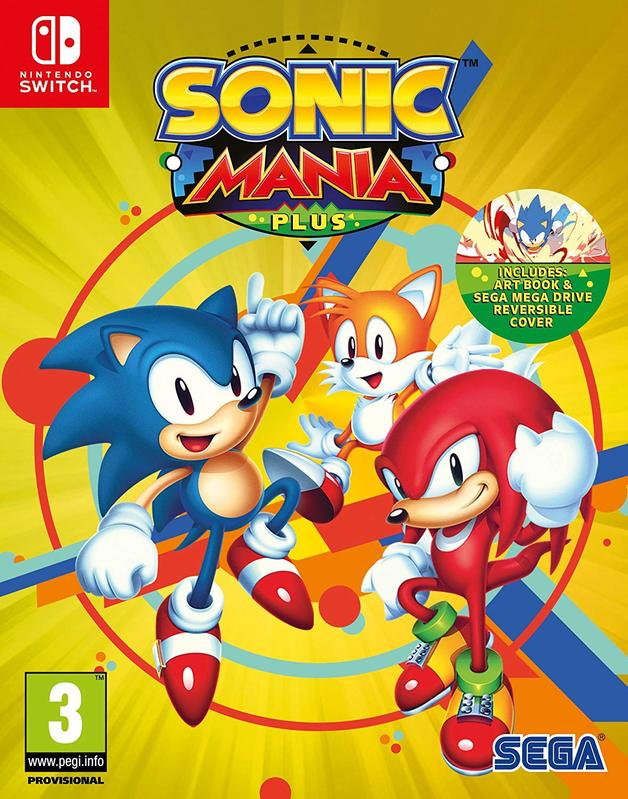Sonic Mania Plus for Switch