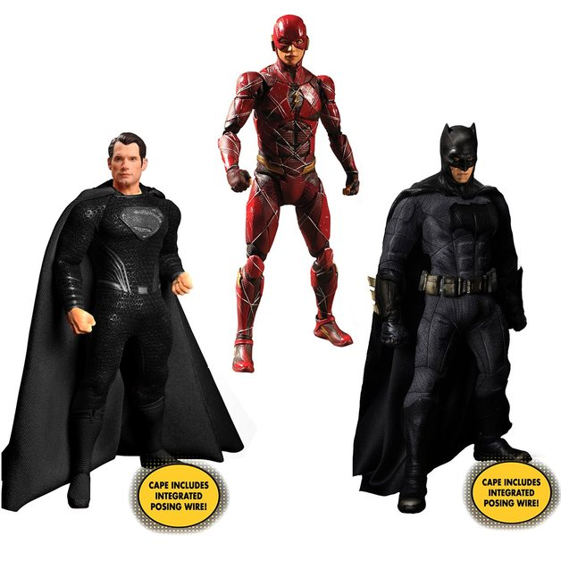 Zack Snyder's Justice League: Deluxe - One:12 Collective Figure Set