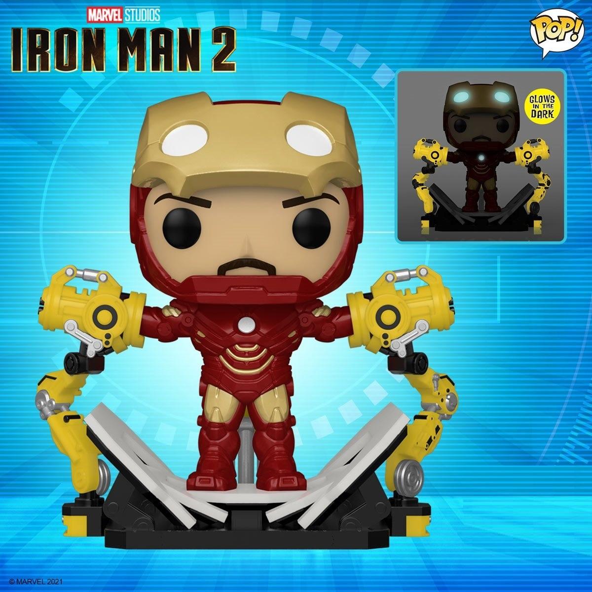 Iron Man (Mark 4 with Gantry) - Pop! Deluxe Figure image
