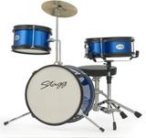 "Stagg 3pc Junior Drum Set 12"" (Blue)"
