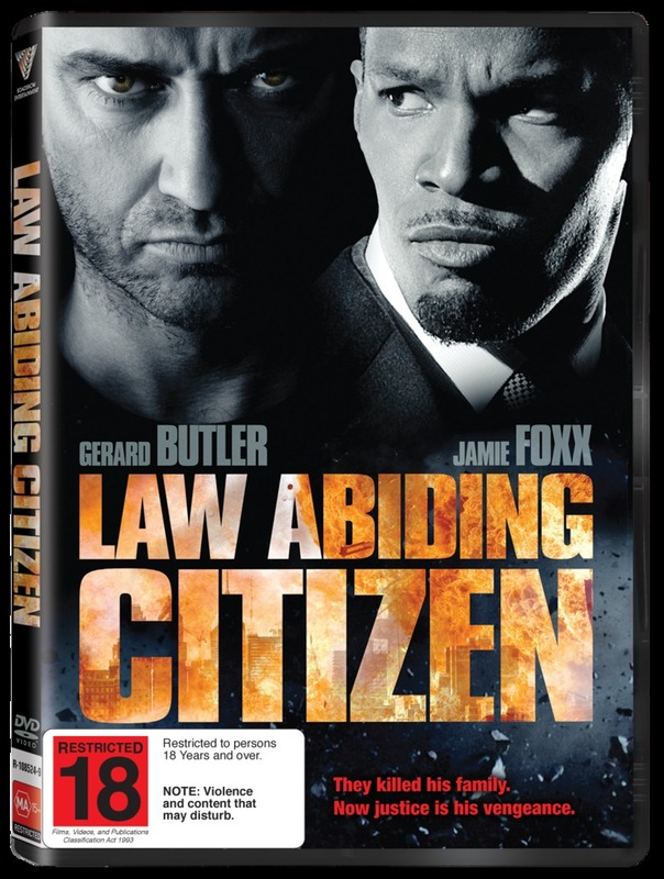 Law Abiding Citizen on DVD