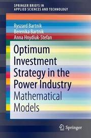 Optimum Investment Strategy in the Power Industry by Ryszard Bartnik