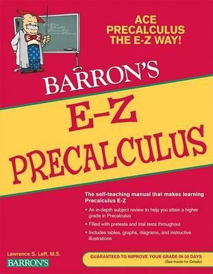E-Z Precalculus by Peter Eisen image