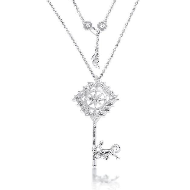 Couture Kingdom: Disney - Princess Pocahontas Necklace (White Gold)