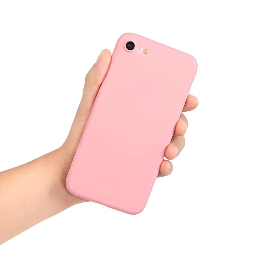 Go Original iPhone 8 Slim Case- Pretty in Pink image