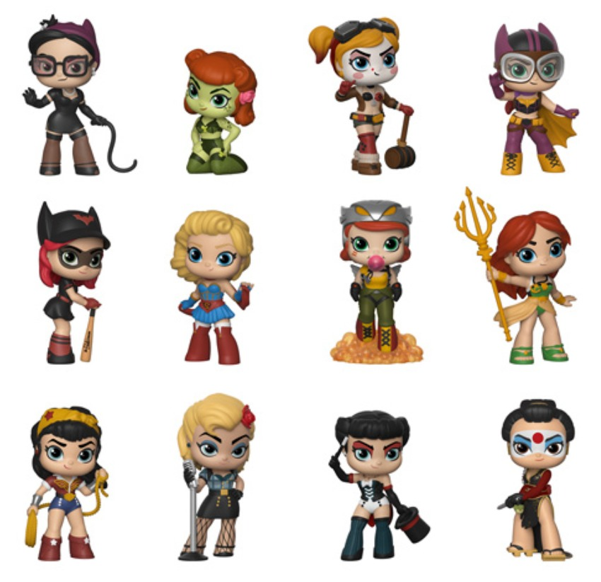 Dc Bombshells Mystery Minis Figure At Mighty Ape Nz