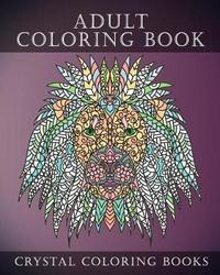 Adult Coloring Book by Crystal Coloring Books