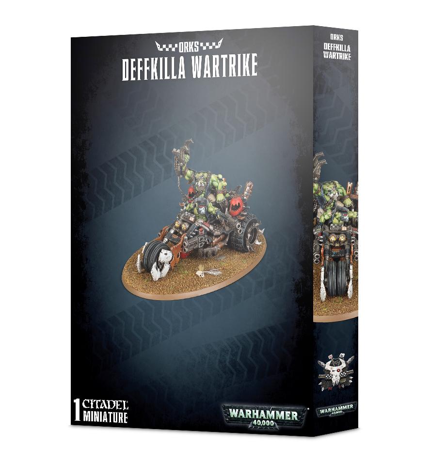Warhammer 40,000 Orks Deffkilla Wartrike image
