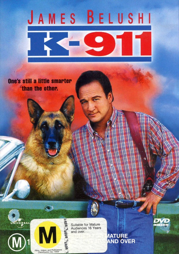 K-911 on DVD image