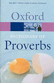 Oxford Dictionary of Proverbs by John Simpson image