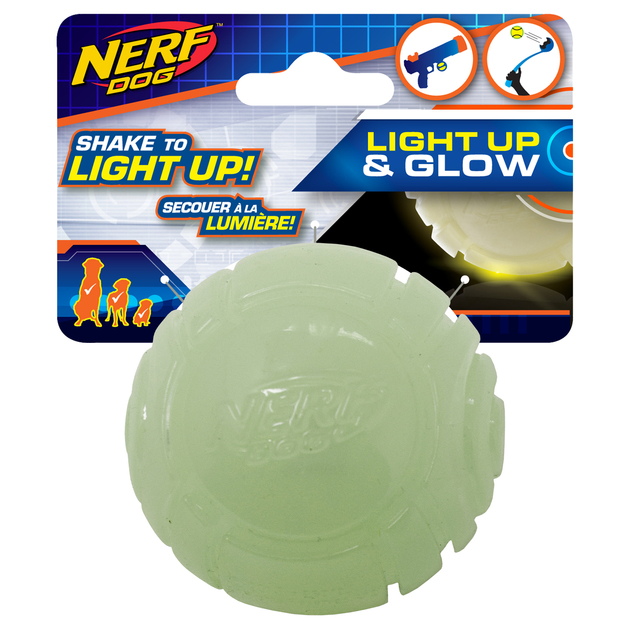 Nerf Dog Blaster LED Glow Sonic Ball