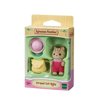 Sylvanian Families - Striped Cat Baby