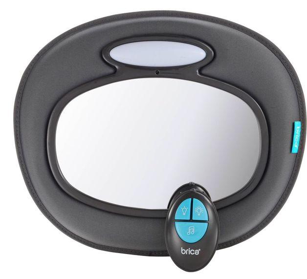 Munchkin: Brica - Night Light Musical Baby In Sight Car Mirror