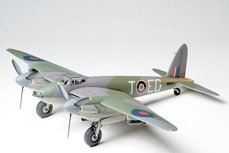 Tamiya British De Havilland Mosquito FB-Mk.VI 1/48 Aircraft Model Kit image
