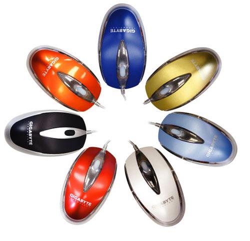 Gigabyte Optical Mouse GM-AC Orange