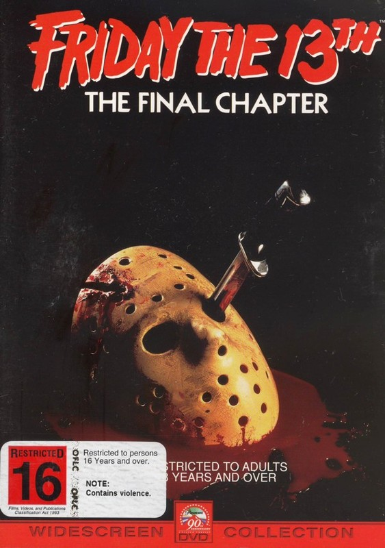 Friday The 13th Part 4 Final Chapter (New Packaging) on DVD