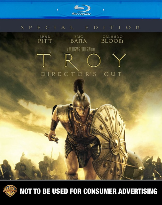 Troy - Director's Cut: Special Edition on Blu-ray