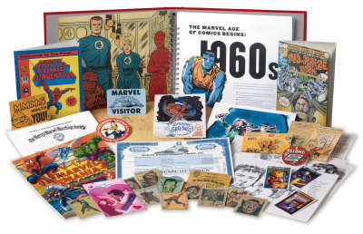 The Marvel Vault: A Museum-in-a-book with Rare Collectibles from the World of Marvel by Roy Thomas
