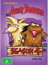 The Angry Beavers - Season 4 on DVD