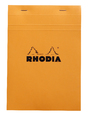Bloc Rhodia Orange A5 80 5x5 Graph Sheets