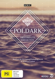 Poldark - The Complete Collection (Original) on DVD image