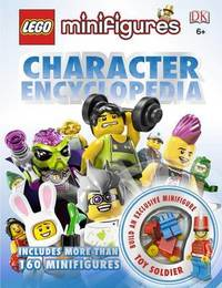 LEGO Minifigures Character Encyclopedia (with exclusive Minifigure!) by Daniel Lipkowitz