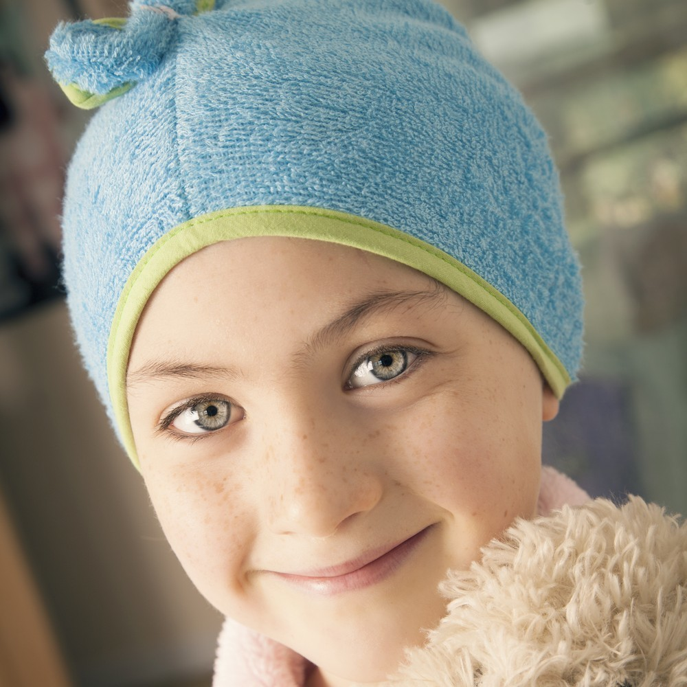 Cuddletwist Bamboo Hair Towel - Blue image